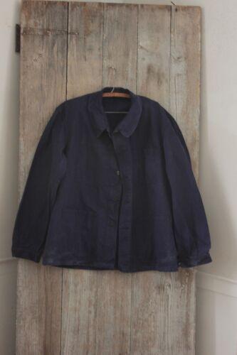 Chore coat Work wear French blue jacket Farmer clothing Bill Cunningham denim