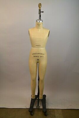 Wolf Collapsible Vintage Girl Dress Form Mannequin Model 1971