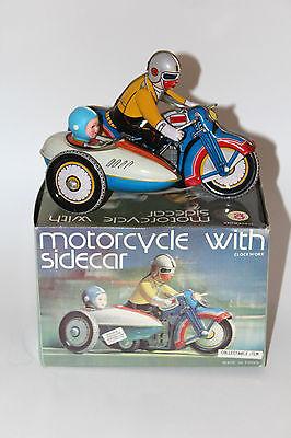 Clockwork MS 709 Blech Motorcycle With Sidecar mit OVP gebraucht
