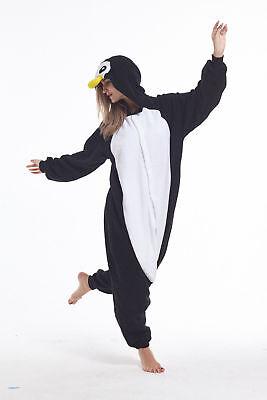 sqlszt Adult Unisex Kigurumi animal Penguin Onesie0 Pajamas Cosplay Costume