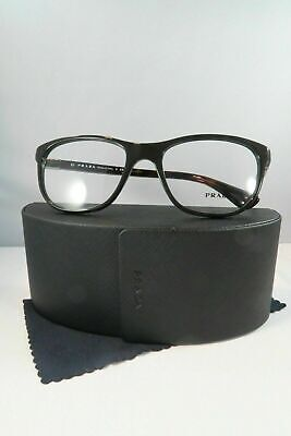 Prada Women's Black Glasses and case VPR 29S UF7-1O1 54mm