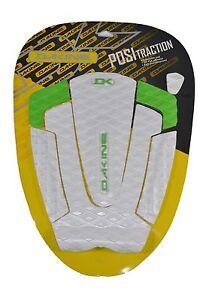Dakine-MANTIS-White-Green-3M-PSA-Adhesive-Posi-Traction-Surfboard-Adjustable-Pad