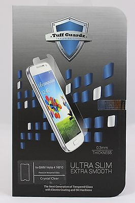 Tuff Guardz Best Premium Tempered Glass Screen Protector Samsung Galaxy (Best Galaxy Note 4 Screen Protectors)