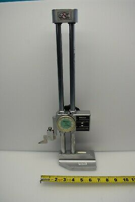 Used Mitutoyo 192-116 Dial Height Gage W Digital Counter 0-12 Range .001-12