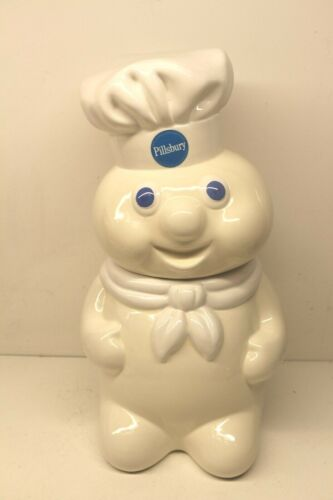 Vintage 1988 Pillsbury Dough Boy Cookie Jar Advertising
