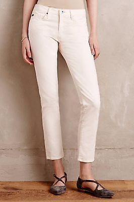 NWT Anthropologie AG Jeans Stevie Ankle Cords Ivory Goldschmied Sizes 31 Petite Ag Jeans, Cord Jeans