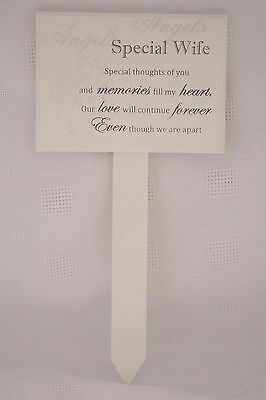 Wife Graveside Memorial Grave Stick Special Thoughts Of You Special Wife  F0898N
