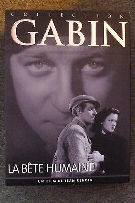 DVD la bete humaine très bon état 1938 jean gabin