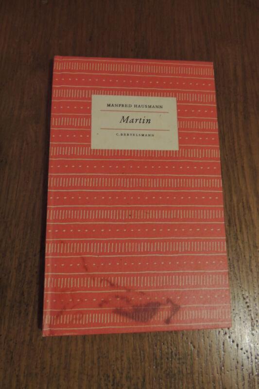 Martin von Manfred Hausmann, Nr.32, gebunden von 1954