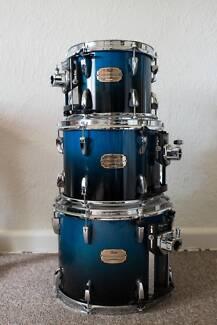 Pearl Session Custom Drum kit, Hardware & Bags