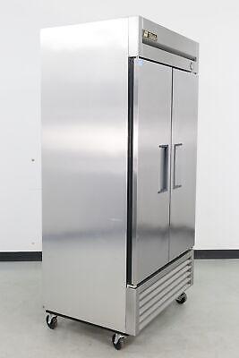 Used True T-35 2 Solid Door Bottom Mounted Reach-in Refrigerator 585838
