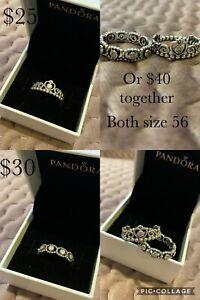 Pandora tiara rings