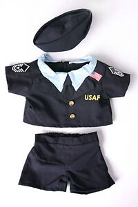 Teddy-Bear-Air-Force-Uniform-Fit-14-18-Build-a-bear-by-The-Bear-Factory
