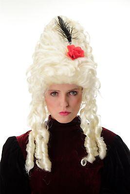 al Barock Marie Antoinette Platinblond Beehive Turmfrisur (Marie Antoinette Perücke)