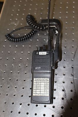 Motorola Mts2000 Two Way Radios H01ucd6pw1bn With Mic Flashport