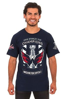 Washington Capitals 2018 Stanley Cup 2 Sided Road To The Cup Tee Shirt