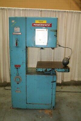 20 Powermatic Model 87 Vertical Saw Yoder 64123