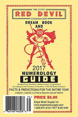 2017 Lucky Red Devil Combination Dream Book   Numerology Guide   Lottery Book