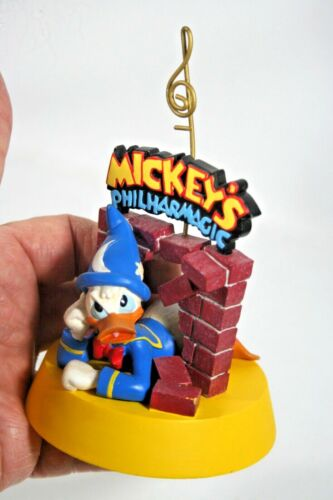 Nice Mickey's Philharmagic Magic Kingom Donald Duck Figure Note or Photo Holder