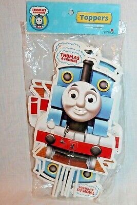 "NEW IN PACKAGE THOMAS THE TRAIN 12- TOPPERS 9"" TALL PARTY SUPPLIES"