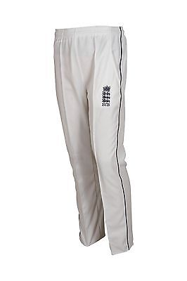 HIGH QUALITY CRICKET TROUSER WITH ENGLAND LOGO LARGE MENS 34-36INCH