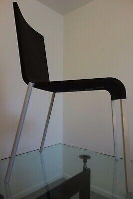 Vitra .03 Stacking Chairmaarten Van Severen 1998 Black And Silver