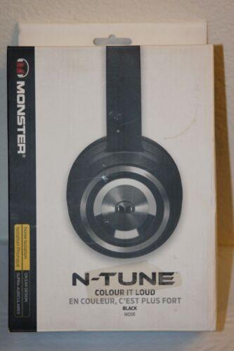 Monster N-Tune On-Ear Headphones Matte Black 128580-00