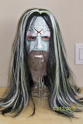 ROB ZOMBIE FULL OVER THE HEAD LATEX MASK COSTUME MA1027](Rob Zombie Costumes)