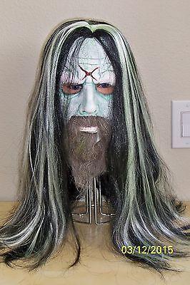 Rob Zombie Voll über dem Kopf Latex Maske Kostüm MA1027 ()
