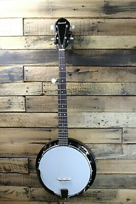 Savannah SB-080 18 Brkt 5 St. Banjo w/ Mahogny Resonator - Missing Cover #R6317