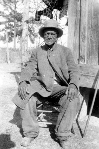 1937 Black History-Wes Brady-Ex Slave from Marshall, Texas