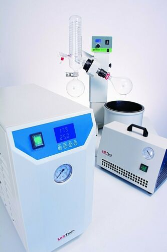 2L Motor Lift LabTech Rotary Evaporator Complete Turnkey Package, 1 YR warranty