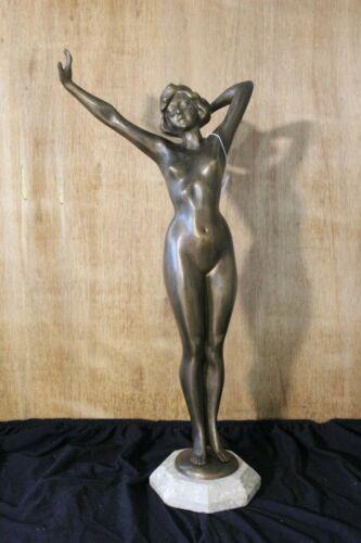 Art Deco Orignal bronze Nude