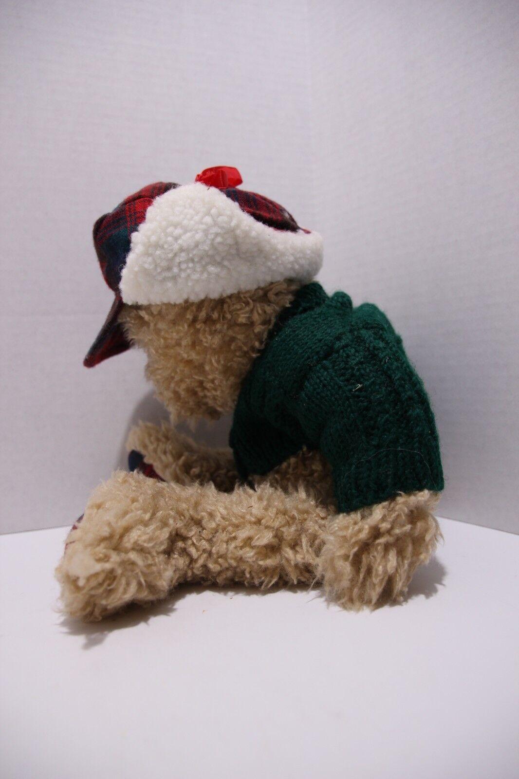 The Boyds Collection Plush Bear - Eddie Bauer Hunter - $9.00