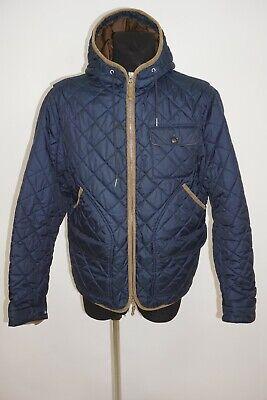 GANT Men's Stockbridge Michael Bastian Quilted Detailed Hooded Jacket sz XL