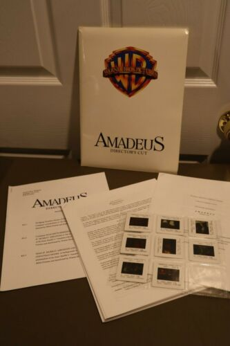 1984 Amadeus Orion Pictures Movie Critic Press Kit W/ 8 Slides
