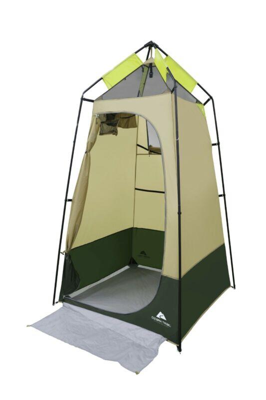 Convenient Green Lighted Shower Tent
