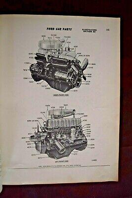 Ford, 1960-1964, Car Illustration Catalog, Parts, Dealership, Shop, Book, Used