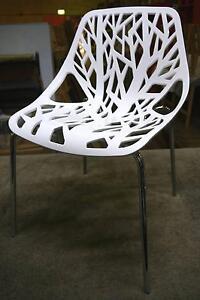 New White Replica Caprice Dining Chairs Bar Cafe Restaurant Melbourne CBD Melbourne City Preview