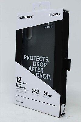 Tech21 Evo Check Case for Apple iPhone XR - Smokey Black NEW