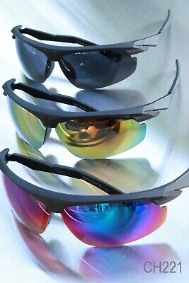 Sport Sunglasses great for Cycling Running Baseball Outdoors Flat Top (Top Sunglasses For Running)