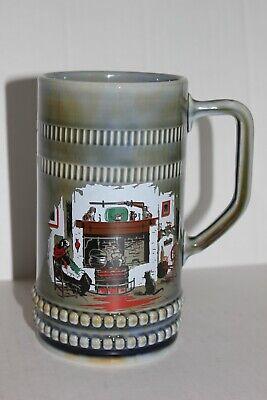 Vintage Wade Irish Porcelain Made in Ireland Stein Tankard Mug Irish Kitchen - Irish Porcelain Kitchen