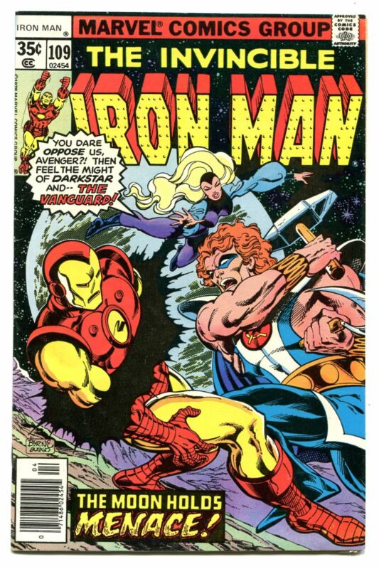 IRON MAN # 109