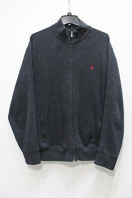 Polo Ralph Lauren Performance full zip jacket gray heather mens size XL cotton