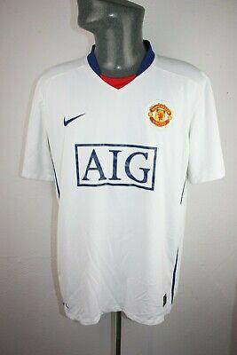 Manchester united 2008 Nike away football shirt Mens XL Extra large trikot F62 image