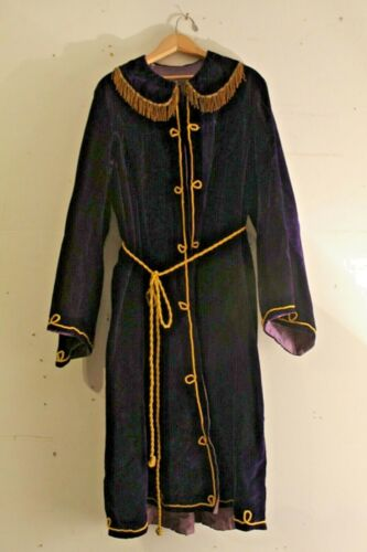 Antique early 20th Century IOOF Odd Fellows Fraternal Order Ceremonial Robe
