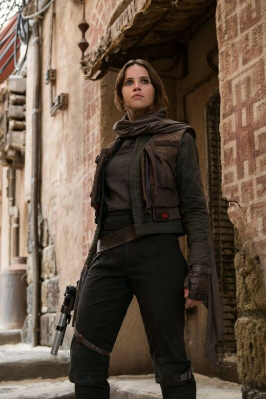 """STAR WARS: ROGUE ONE - MOVIE POSTER PRINT (SIZE: 11""""x17"""") FELICITY JYN ERSO"""