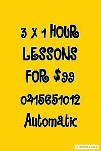 Driving Lessons 3 hours for $99 Springwood Logan Area Preview