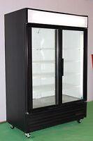 TRUE TWO DOOR GLASS COOLERS AND FREEZERS
