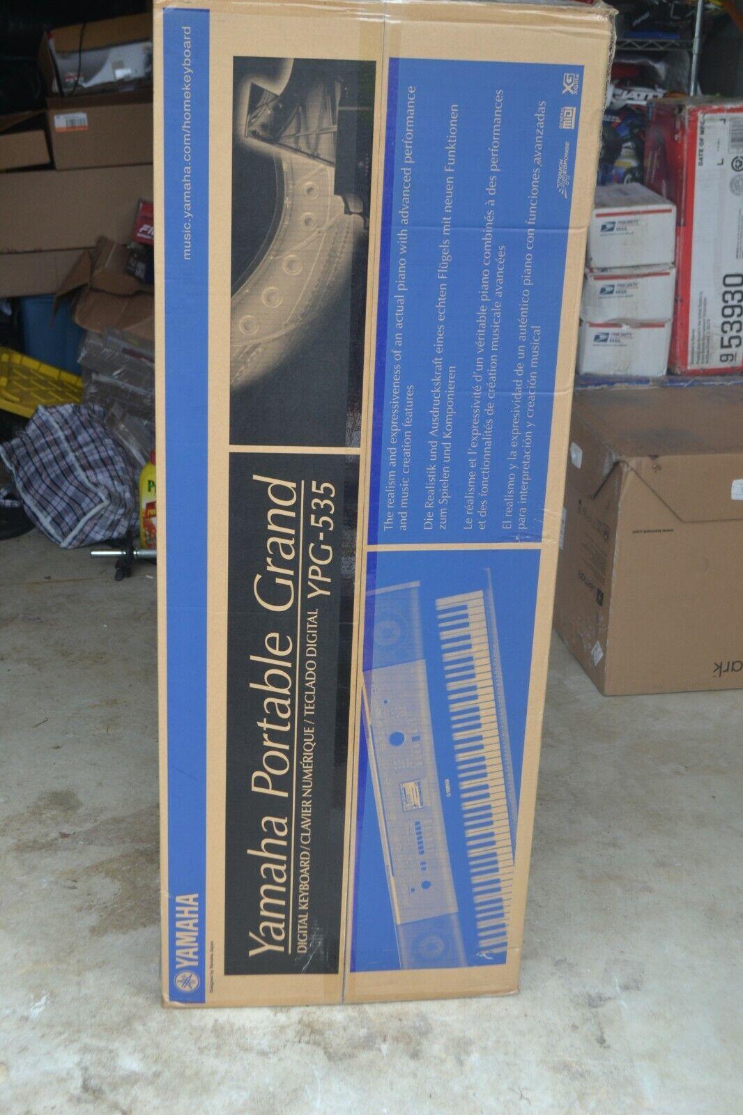 Yamaha YPG535 88-Key Portable Grand Piano Keyboard with Stan